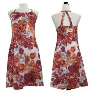PrAna Quinn Halter Dress Athletic Dress Pink M